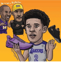 Bbb, Memes, and 🤖: He is hot a BiBallen What people don't realize is that Lonzo can wear whatever shoe he wants without going against a shoe contract... Zo2 BBB @parktyson - Follow @dunkfilmz for more!