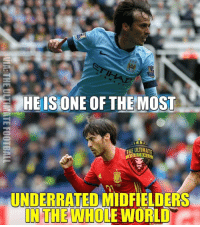 Soccer, Sports, and World: HE IS ONE OF THE MOST  THE ULTIMATE  FOOTBALL  UNDERRATED MIDFIELDERS  IN THE WHO  WORLD David Silva!