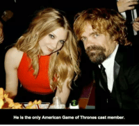 game of thrones cast: He is the only American Game of Thrones cast member.