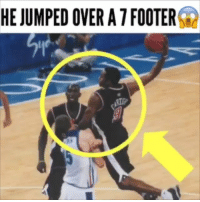 Cavs, Dunk, and Memes: HE JUMPED OVER A 7 FOOTER Is this the greatest dunk of all time?😱 - 👉Follow @ball.thrills for more👈 - lameloball liangeloball lonzoball lavarball bigballerbrand nba nbaallstar nba2k18 nbatrade nbajersey nbakicks nbaplayoffs celtics celticsgame jaysontatum jaylenbrown bostonceltics lebronjames cavs stephencurry kd kevindurant russellwestbrook kyrieirving wow drose derrickrose minnesota