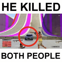 Memes, Respect, and Mad: HE KILLED  04:22  BOTH PEOPLE Mad respect for @fullcyanide for killing both of us🙌😭 (GTA with @fullsurfdude, @fullgameclips, @fullcyanide, and me (@eliolken)
