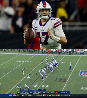 He led the @BuffaloBills to their first 10-win season in 20 years.  @JoshAllenQB's BEST plays of the season! https://t.co/aUiOY0diZ0: He led the @BuffaloBills to their first 10-win season in 20 years.  @JoshAllenQB's BEST plays of the season! https://t.co/aUiOY0diZ0