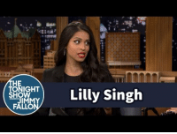 """<h2><a href=""""https://www.youtube.com/watch?v=vRg0yM8G_n4"""" target=""""_blank"""">Lilly Singh explains the inspiration behind her exaggerated impersonations of her parents</a></h2>: HE  ) Lilly Singh  TONIGHT  FALLO <h2><a href=""""https://www.youtube.com/watch?v=vRg0yM8G_n4"""" target=""""_blank"""">Lilly Singh explains the inspiration behind her exaggerated impersonations of her parents</a></h2>"""