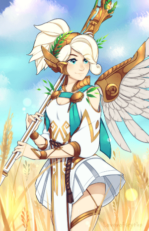 loverofscythe:Winged Victory Mercy from Overwatch. My second most played hero in one of my all time favorite skins!! 3: he loverofscythe:Winged Victory Mercy from Overwatch. My second most played hero in one of my all time favorite skins!! 3