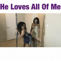 """Memes, All of Me, and 🤖: He Loves All Of Me """"He Loves All Of Me"""" @btkingsley @jetdope @hotaskell @young_ezee_ @hellomissbianca @mrnatejackson @iamkatmack @macthecreator @stephanosway kingsley kingsleykrew kingsleykomedy love valentines valentineday bae titty ass throwbackthursday another video tomorrow tagafriend tagsforlikes twerk lol funny comedy fun throwbackthursday poledance laugh gap smile"""