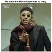 Funny, Harry Potter, and Lol: He made the Harry Potter tune so wavy  HIP-HOP  FRANCE Lol never forget 👉🏾(via:@hiphopinfosfrance @theraisinman @yung_mavu)