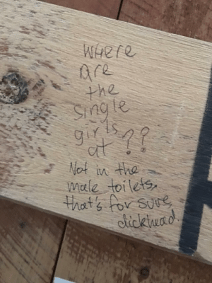Funny, Love, and Via: he  nde  Nef  in the  mele toilets  ciickhead Everybody will find love you just have to look in the right place via /r/funny https://ift.tt/2uV50wb
