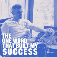 Energy, Memes, and Patience: HE  ONE WORD  THAT BUILT  SUCCESS Patience is the currency of my success, my high energy personality disguises my greatest asset and skill and that is patience.