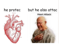 """<p>Potential revamp of a becoming stale meme? via /r/MemeEconomy <a href=""""http://ift.tt/2tY4cHu"""">http://ift.tt/2tY4cHu</a></p>: he protec  but he also attac  Flo, 87.  Heart Attack <p>Potential revamp of a becoming stale meme? via /r/MemeEconomy <a href=""""http://ift.tt/2tY4cHu"""">http://ift.tt/2tY4cHu</a></p>"""