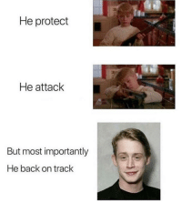 Back, Man, and My Man: He protect  He attack  But most importantly  He back on track My man 🔥💯🔥