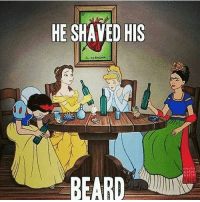 Absolutes gutted!!! disney princess galdembanter dt @itsshenell uberCode:SHENG6 www.instagram.com-isawitandii: HE SHAVED HIS  EL CORAZON  BEARD Absolutes gutted!!! disney princess galdembanter dt @itsshenell uberCode:SHENG6 www.instagram.com-isawitandii