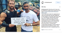 "Chris Hemsworth is standing with #StandingRock. #NoDAPL: he stand with  Standing  Rock  HNDAPL  chris hemsworth  Follow  146k likes  chrishemsworth Standing with those who  are fighting to protect their sacred land and  water. nodapl waterislife #mniwiconi  @taikawaititi  I would also like to take this opportunity to  raise something that has been bothering  me for sometime. Last New Years Eve Iwas  at a ""Lone Ranger themed party where  some of us, myself included, wore the  traditional dress of First Nations people. I  was stupidly unaware of the offence this  may have caused and the sensitivity  around this issue. I sincere  ly and  unreservedly apologise to all First Nations  people for this thoughtless action  I now  appreciate that there is a great need for a  Log in to like or comment. Chris Hemsworth is standing with #StandingRock. #NoDAPL"