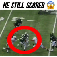 Memes, 🤖, and Beast: HE STILL SCORED  Q RGIII used to be a beast 😱 - @dankrushes