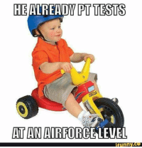 HE  TESTS  AT AN AIRFORCE LEVEL  ifunny.CO