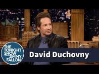 "<p><a href=""https://www.youtube.com/watch?v=v_z-8xFd85Q&amp;list=UU8-Th83bH_thdKZDJCrn88g&amp;index=1"" target=""_blank"">David Duchovny's kids are embarrassed that their dad is in a band!</a></p><p>[ <a href=""http://www.nbc.com/the-tonight-show/segments/129251"" target=""_blank"">Part 2</a> ]</p>: HE  TONIGHT  JIM  FA  David Duchovny <p><a href=""https://www.youtube.com/watch?v=v_z-8xFd85Q&amp;list=UU8-Th83bH_thdKZDJCrn88g&amp;index=1"" target=""_blank"">David Duchovny's kids are embarrassed that their dad is in a band!</a></p><p>[ <a href=""http://www.nbc.com/the-tonight-show/segments/129251"" target=""_blank"">Part 2</a> ]</p>"