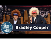"<p>Jimmy <a href=""https://www.youtube.com/watch?v=jW0ibIUy_74"" target=""_blank"">celebrates Bradley Cooper's birthday</a> with some fun visors!</p>: HE  TONIGHT  SHOW  ) Bradley Cooper <p>Jimmy <a href=""https://www.youtube.com/watch?v=jW0ibIUy_74"" target=""_blank"">celebrates Bradley Cooper's birthday</a> with some fun visors!</p>"