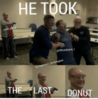 HE TOOK  @mike the cop  Officerdaniels-1  On Instagram  CopHumor  THE LAST  DONUT This is when @mike_thecop tased @officerdaniels_1 😂 CopHumor CopHumorLife Humor Funny Comedy Lol Police PoliceOfficer ThinBlueLine Cop Cops LawEnforcement LawEnforcementOfficer Donut LastDonut Tased ThatFace