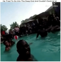 😂💀💀 - Tag A Friend👌 Double Tap For More Videos👍 Follow 👉 @fried_times •••••••••••••••••••••••••••••: He Tried To Go Into The Deep End And Couldn't Swim  Ines 😂💀💀 - Tag A Friend👌 Double Tap For More Videos👍 Follow 👉 @fried_times •••••••••••••••••••••••••••••