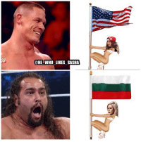 John Cena, Memes, and Wrestling: @HE WHO LIKES SASHA How John Cena and Rusev are preparing for their Flag on a pole match 😏😂. wwe wwememe wwememes johncena hustleloyaltyrespect nevergiveup youcantseeme nikkibella lana rusev ajstyles kevinowens shinsukenakamura baroncorbin randyorton jindermahal wrestler wrestling prowrestling professionalwrestling wweuniverse wwesuperstars raw wweraw mondaynightraw smackdown smackdownlive sdlive wwesmackdown battleground