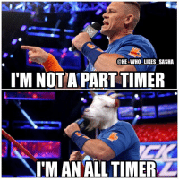 Cena is definitely one of the all time greats the business has ever seen. So great to have him back 🙌. Loved this line btw🔥. wwe wwememe wwememes johncena hustleloyaltyrespect cenation nevergiveup youcantseeme rusev randyorton brocklesnar samoajoe wwechampion universalchampion wrestler wrestling prowrestling professionalwrestling wwf wweuniverse wwenetwork wwesuperstars raw smackdown wwesmackdown wweraw nxt sdlive: @HE WHO LIKES SASHA  I'M NOTA PART TIMER  oe  IM AN ALL TIMER Cena is definitely one of the all time greats the business has ever seen. So great to have him back 🙌. Loved this line btw🔥. wwe wwememe wwememes johncena hustleloyaltyrespect cenation nevergiveup youcantseeme rusev randyorton brocklesnar samoajoe wwechampion universalchampion wrestler wrestling prowrestling professionalwrestling wwf wweuniverse wwenetwork wwesuperstars raw smackdown wwesmackdown wweraw nxt sdlive