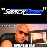 """How many of u guys knew that the rock invented the term """"Smackdown""""? If only he could be the GM of the show 😕 to bad that he has no spare time😞 but I'm happy for him that he's thriving in Hollywood. It's great to see that the rock is the highest paid actor in the world and it just shows how great wrestlers can be as entertainers. wwe wwememe wwememes therock justinbieber dwaynejohnson dwaynetherockjohnson peopleschamp thegreatone attitudeera wwechampion stonecold stonecoldsteveaustin wrestler johncena wrestling wrestlemania prowrestling professionalwrestling wwf cmpunk worldwrestlingfederation wweuniverse wwenetwork wwesuperstars raw smackdown smackdownlive sdlive wwesmackdown: HE WHO LIKES SASHA  INVENTED THAT How many of u guys knew that the rock invented the term """"Smackdown""""? If only he could be the GM of the show 😕 to bad that he has no spare time😞 but I'm happy for him that he's thriving in Hollywood. It's great to see that the rock is the highest paid actor in the world and it just shows how great wrestlers can be as entertainers. wwe wwememe wwememes therock justinbieber dwaynejohnson dwaynetherockjohnson peopleschamp thegreatone attitudeera wwechampion stonecold stonecoldsteveaustin wrestler johncena wrestling wrestlemania prowrestling professionalwrestling wwf cmpunk worldwrestlingfederation wweuniverse wwenetwork wwesuperstars raw smackdown smackdownlive sdlive wwesmackdown"""