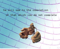 """Reddit, Com, and Will: he will see to the completion  of that which you do not  complete <p>[<a href=""""https://www.reddit.com/r/surrealmemes/comments/7kbajq/no_apprehensions/"""">Src</a>]</p>"""
