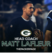 Head, Memes, and Packers: HEAD COACH  MATT LAFLEUR  THEPACKERPAGE Per Adam Schefter, the Packers have started informing other interviewed candidates that they're out, and that the Packers have made their decision. Matt LaFleur will be the new Packers head coach. Packers