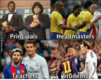Memes, Principal, and Irate: Headmasters  a Principals  FOOTBALL  ARENA  Fly  irates  N Students  Teachers L Football School