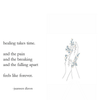 Target, Tumblr, and Forever: healing takes time.  and the pain  and the breaking  and the falling apart  feels like forever  -juansen dizon dark tunnel by juansen dizon