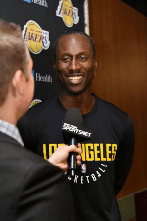 Los Angeles Lakers, Signs, and Health: Health  NGELE  KET Andre Ingram signs a 10-day contract with the Lakers, per Shams Charania