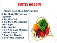 """1. You don't have to focus on the calories or count them obsessively. Yes, you do need to be aware of calories though. Yes, you do need to be mindful of portion sizes. 2. You can enjoy a """"treat"""" now and then. Just be sure to portion size it. You have foods you should eat often ( lean meats, whole grains and pastas, veggies & fruits, dairy, legumes ) and foods you eat sometimes, foods you eat on special occasions and foods you have rarely. Of course, this all depends on your goals too, food preferences and lifestyle. 3. You do not have to eliminate food groups ( unless you have an allergy or intolerance ).  4. Sugar is not the problem. Too much sugar is the problem. 5. Salt is not the problem. Too much salt is the problem. 6. Focusing on a number on a scale is not the best way to measure your """"successes"""". Your lab results as discussed with your physician, increased energy & a better sense of well-being are a much better way to know you are getting healthier. 7. Lift heavier weights. Ladies, you cannot get """"bulky"""" or look """"manly"""" just by lifting heavy weights alone. Unless you specifically train and eat with that as your goal and even then it is difficult to do. 8. Having a healthy heart and better lung capacity matter so do some cardio too. ( check with your doctor first & make sure you have a green light to do cardio ) Yes, there are other benefits of doing cardio too. 9. Too little food intake is not good either. You don't have to starve yourself. You do have to eat food. 10. Foods are neither good nor bad. You do not have to drop and do burpees cause you ate a second slice of pizza.  11. Not all exercise happens in a gym.  12. Screw fad diets. If you cannot maintain the diet for life, then why bother with it? 13. Small daily habit changes make much more sense. You don't have to overhaul your routine overnight. 14. No, not everyday will be great. In fact, there will be days that totally suck rotten monkey eggs. But do try to maintain a positive attitude as much as """