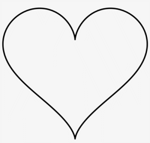 Heart Emoji Black and White Copy and Paste the Emoji