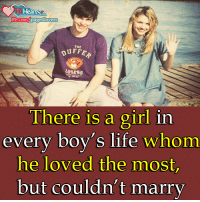 Life, Memes, and Girl: Heart  Fbcom Page4 lovers  THE  LOSERS  There is a girl in  every boy's life whom  he loved the most  but couldn't marry
