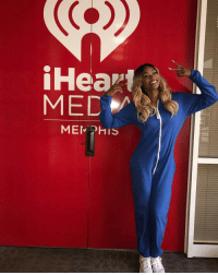 MEMPHIS!!! Visiting @iheartradio talking about the LYAO Comedy Tour at Chuckles TONIGHT, SATURDAY and SUNDAY - slide thru 💋 📸 @erndukes: Heart  MED  MEMPHIS MEMPHIS!!! Visiting @iheartradio talking about the LYAO Comedy Tour at Chuckles TONIGHT, SATURDAY and SUNDAY - slide thru 💋 📸 @erndukes