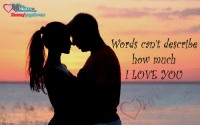 Hearts Word: Heart  Words can't describe  how much  I LOVE YOU