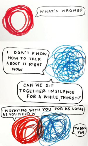 heartlessqueen:  quick comic about a conversation my therapist said i should try having when im feeling bad (instead of isolating myself and using unhealthy coping mechanisms): heartlessqueen:  quick comic about a conversation my therapist said i should try having when im feeling bad (instead of isolating myself and using unhealthy coping mechanisms)