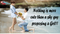 True ?: Hearts  Fb.com/  Nothing is more  cute than a shy guy  proposing a girl!! True ?