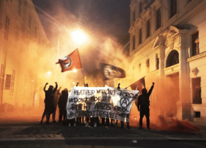 Tumblr, Twitter, and Blog: HEATHER EON fuckyeahblackbloc:  Solidarity from Vienna to Charlottesville. Heather, we do not forget. We do not forgive. Rest in power. — autonome antifa