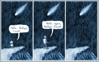 """Target, Tumblr, and Blog: Hell. aqain  Halleys Comet  Haleys  ello  Comer <p><a class=""""tumblr_blog"""" href=""""http://royst148.tumblr.com/post/100149595526/we-exist-for-a-mere-blink-of-an-eye-in"""" target=""""_blank"""">royst148</a>:</p>  <blockquote><p>We exist for a mere blink of an eye in astronomical terms.</p></blockquote>"""