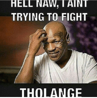 Do Work!!!: HELL NAW, TAINT  TRYING TO FIGHT  THOLANGE Do Work!!!