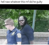Y'all wrong for this 😂 https://t.co/aFadxfyTbX: hell naw whatever this mf did he guilty Y'all wrong for this 😂 https://t.co/aFadxfyTbX