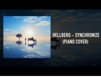 Music, Target, and youtube.com: HELLBERG SYNCHRONIZE  (PIANO COVER) Hellberg - Synchronize (Piano Cover) [With Lyrics] https://www.youtube.com/watch?v=mU2Zl9Fi664  More music! Here is another piano cover that I decided to remake and personally I prefer this one to the last cover I shared. I think the piano suits the track way better.   Thank you in advance to anyone that gives it a listen! :)