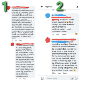 Hello and welcome to my first post. A makeup artist I used posted a video from One America News about how the French were loving hydroxychloroquine and how well its performing there. I sent through an article disproving that. This is the result. Also, we're both from and living in New Zealand: Hello and welcome to my first post. A makeup artist I used posted a video from One America News about how the French were loving hydroxychloroquine and how well its performing there. I sent through an article disproving that. This is the result. Also, we're both from and living in New Zealand