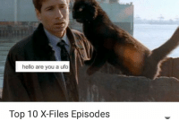 x files: hello are you a ufo  Top 10 X-Files Episodes