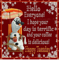 Happy Tuesday peeps..drink up,CHEERS!: Hello  Everyone!  Inope your  day is terrific  and your  is delicious! Happy Tuesday peeps..drink up,CHEERS!