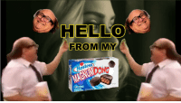 Hello, Cake, and Net: HELLO  FROM  MY  Hostess)  DONG  MAGNUM  CNOCOLATE CAKE  FILLING NET WT, 12702 <p>Hello from my magnum dong</p>