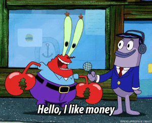 Hello, Money, and Working: Hello, I like money Dealing with customers but youre working overtime.