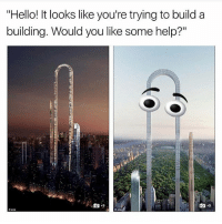 "Memes, 🤖, and Build A: ""Hello! It looks like you're trying to build a  building. Would you like some help?""  Ooilo I was gonna do my nails tonight but now that seems rly hard so I'm just gonna go to bed"