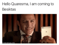 Hello, Memes, and Chile: Hello Quaresma, I am coming to  Besiktas  O twitterHuawei Chile Welcome Alexis! 😝👏🏽