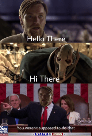 Hello, News, and Fox News: Hello There  Hi There  You weren't supposed to do that  FOX  NEWS  STATE  UNION  OF  THE  hannel I couldn't come up with anything... So i created this.